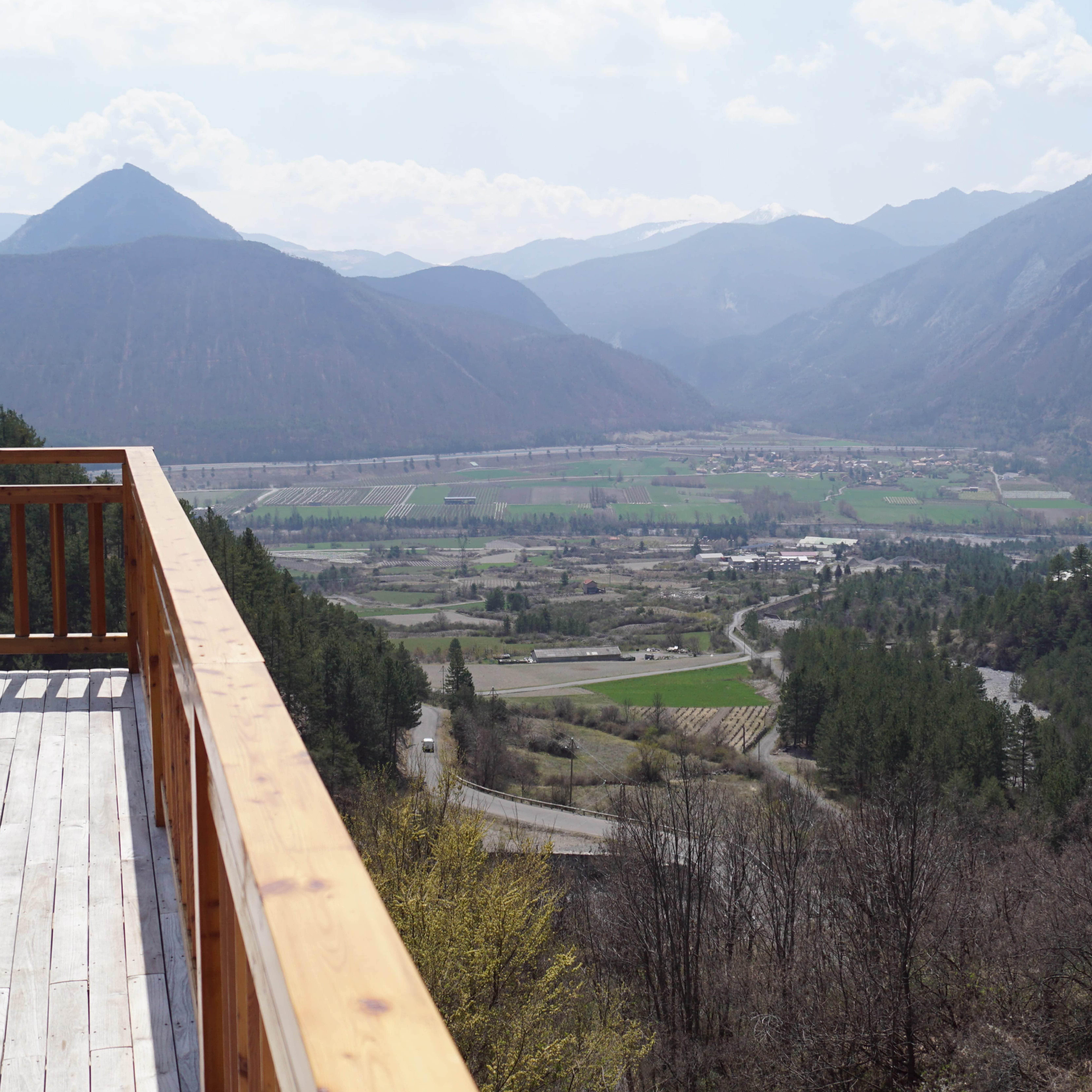 Le Balcon de Théus à Théus ©Bistrot de Pays