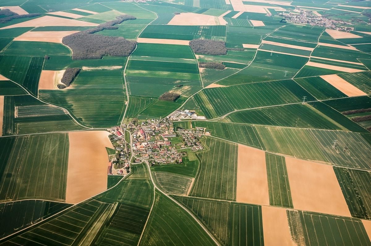 Picardie vue aerienne min