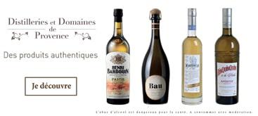 Pub pour Distilleries et domaines de provence