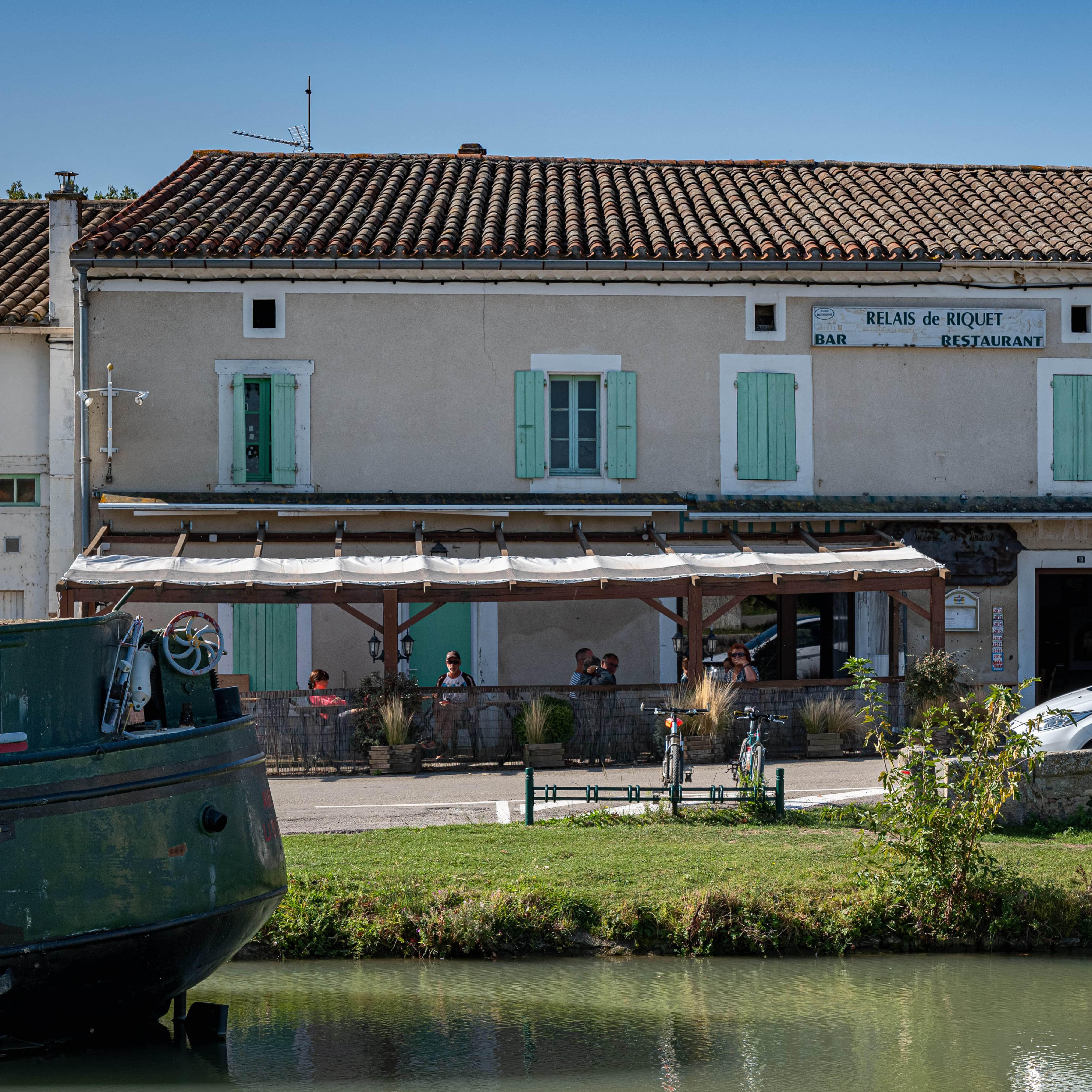 Relais de Riquet à La Bastide d'Anjou ©Bistrot de Pays